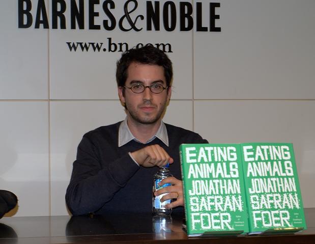 Jonathan Safran Foer, Eating Animals & Ali Hafiz, I Quit Eating Meat