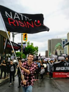 Nation Rising – A Report on Their Second Annual Rally.  Also the Captivating Truth About Frogs with Matt Ellerbeck