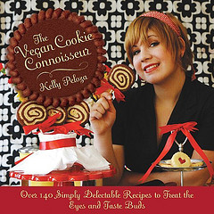 Vegan News Magazine Editor-In-Chief Sonia Lemoine, and Kelly Peloza, author of The Vegan Cookie Connoisseur
