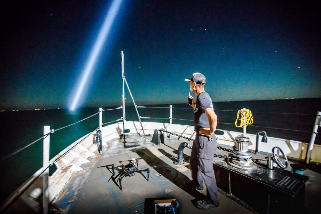 Roy Sasano, Sea Shepherd Drone Pilot on Operation Milagro II, and the Effects of Fireworks on Animals